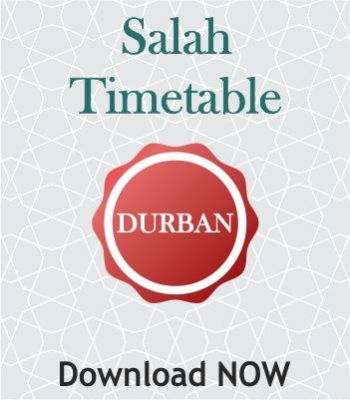 Salah Time Table
